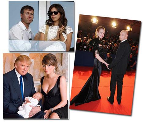 Güzel kadınlar zengin erkek sever!