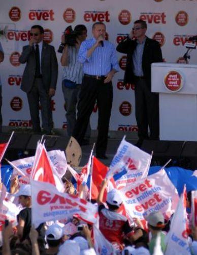 Erdoğan Diyarbakırda böyle korundu