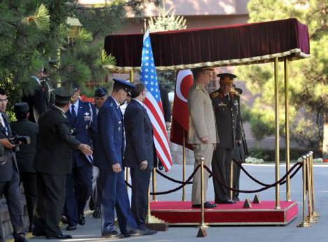 Koşaner ABD G.Kurmay Başkanı ile görüştü