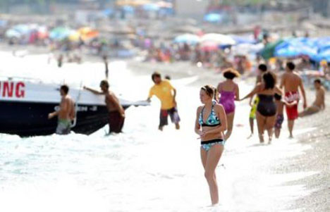 Bodrum yabancı turistlere kaldı