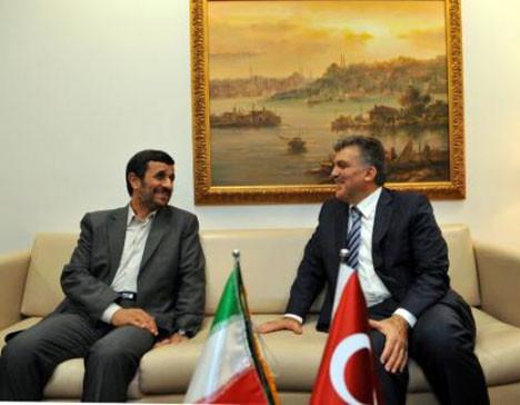 Gül, Ahmedinejadla görüştü!