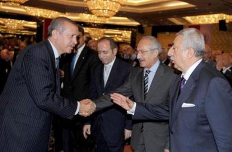 Ankarada sürpriz zirve!