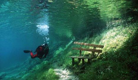 Dalgıçların uğrak noktası  Yeşil Göl
