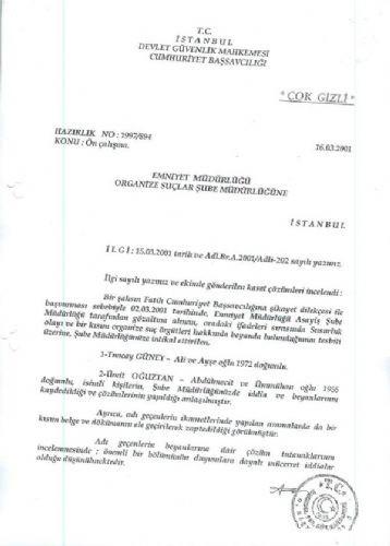 Emniyette Tuncay Güney skandalı !