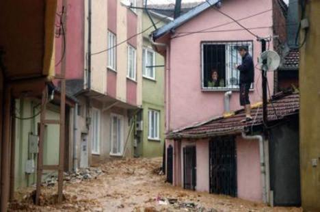 Yağmur bu kez Bursayı vurdu