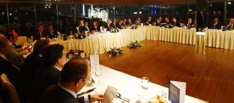 Kılıçdaroğlu medya yöneticileriyle buluştu