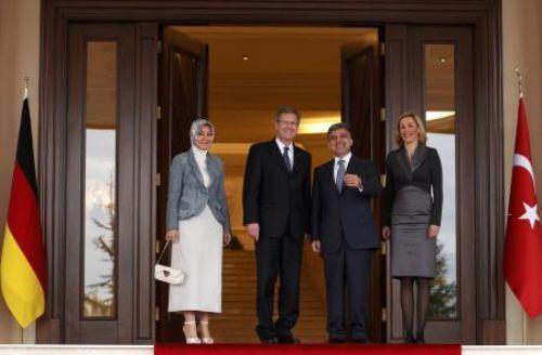 Alman Cumhurbaşkanı Ankarada