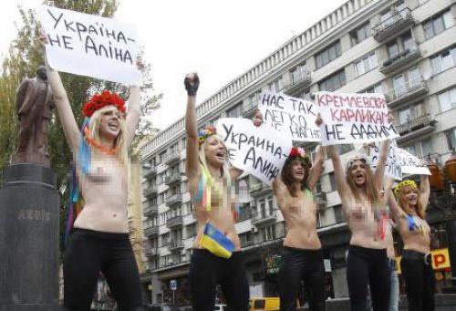 FEMENden Putin protestosu