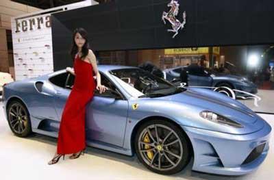 Büyüleyen Ferrariler