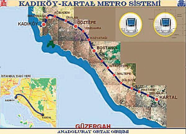 Kadıköy-Kartal metrosu tamamlandı