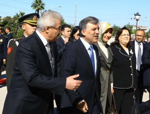Gül Adanayı ziyaret etti