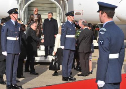 Abdullah Gül, İngilterede!