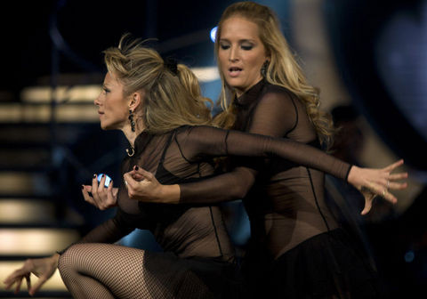 Lezbiyen dansı İsrail'i karıştırdı
