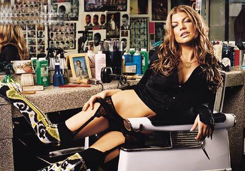 Fergie, iç çamaşır mankeni oldu