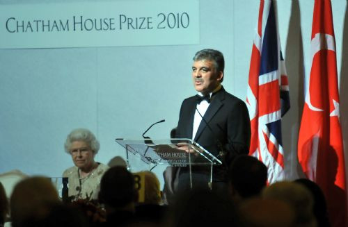 Abdullah Güle büyük ödül