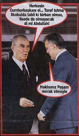 Atatürk, liderleri böyle fırçaladı!