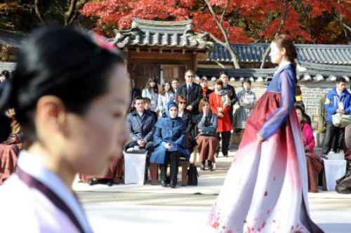 İşte Seuldaki gölge adam