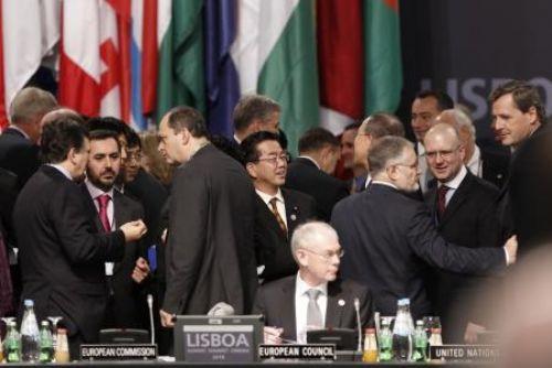 NATO zirvesinden görüntüler