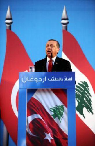 Erdoğan Lübnanda onbinlere seslendi