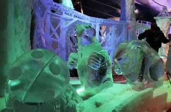 Buzdan masal kahramanları..