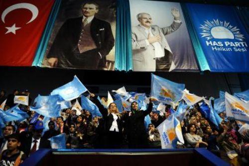Numan Kurtulmuşun ilk büyük kongresi