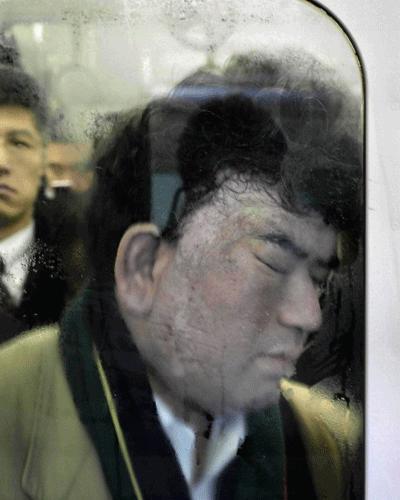 Metrodan uyku manzaraları