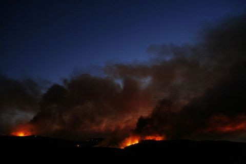 İsrail yanıyor!