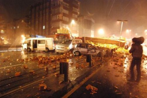İstanbulda hayat felç!