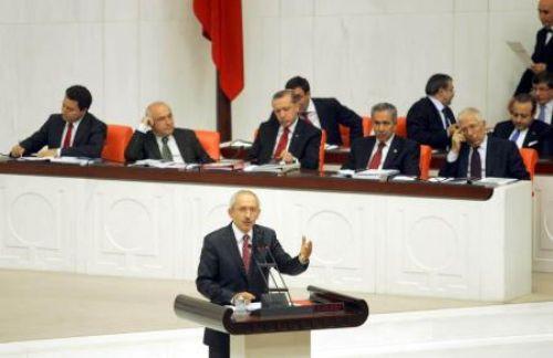 Kılıçdaroğlu Mecliste konuştu