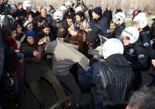 Erdoğana ODTÜde protesto!