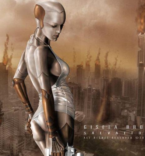 Robot kadınlar!