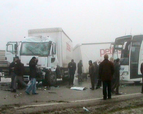 Ankarada zincirleme kaza!