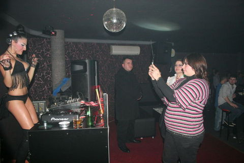 Üstsüz DJ Kırklareliyi coşturdu!