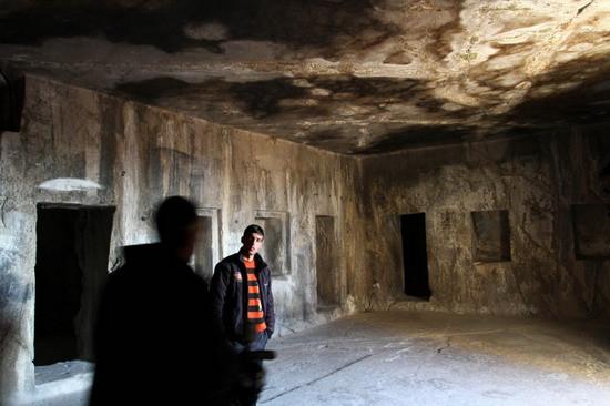 İşte 3 bin yıllık mezar odaları!