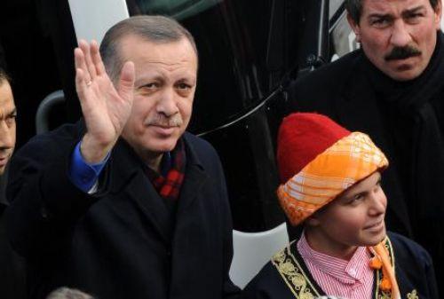 Başbakan Erdoğan Karsta