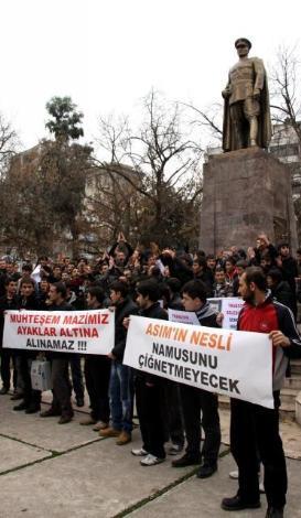 Muhteşem Yüzyıla protesto!