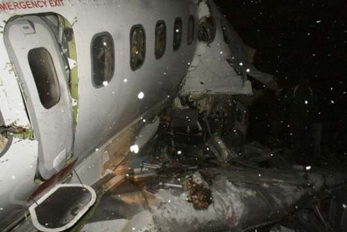 İrandaki uçak kazasından kareler!