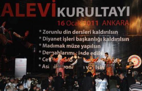 Alevi Kurultayı Ankarada toplandı
