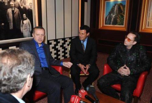 Erdoğan Nicolas Cage ile görüştü!