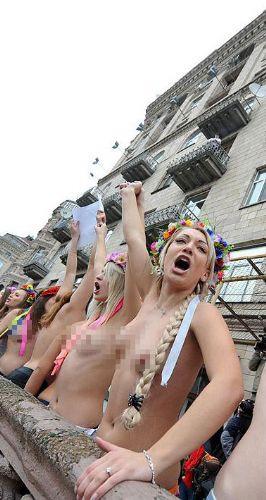 FEMENden balkon isyanı!