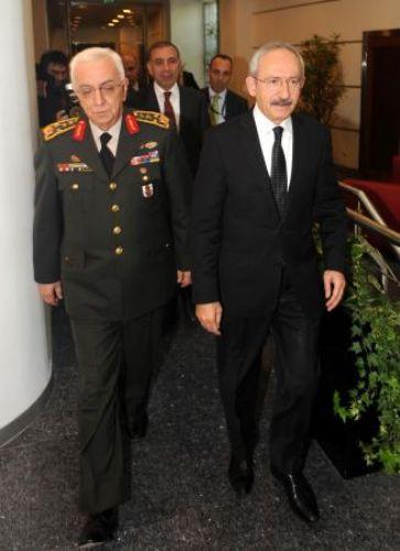 Kılıçdaroğlu Işık Koşaner ile görüştü