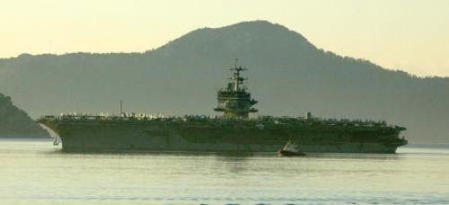 ABD nükleer uçak gemisi Marmariste!