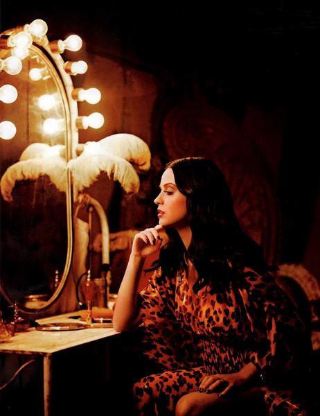 Katy Perry sirk yıldızı oldu