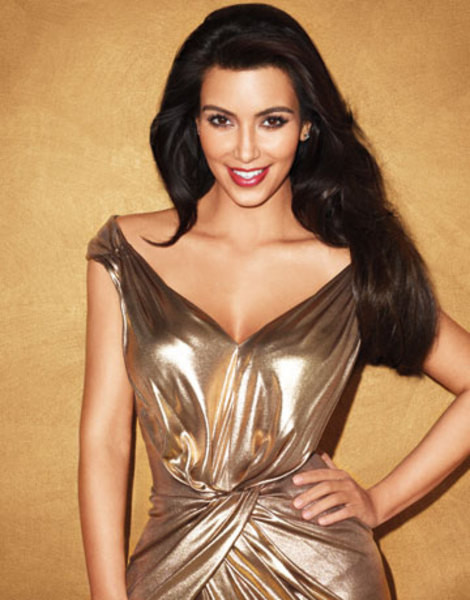 Kardashianın Cleopatra pozları