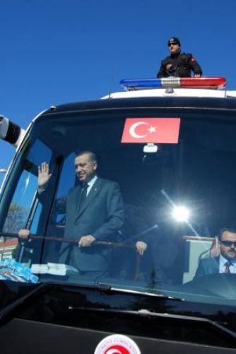 Erdoğan toplu açılış törenine katıldı