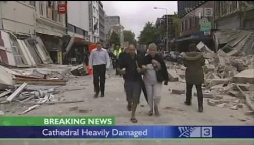 Yeni Zelandada şiddetli deprem!