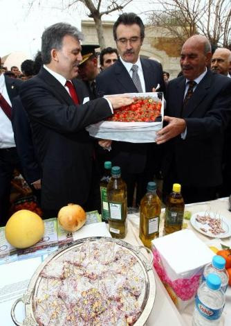 Cumhurbaşkanı Güle izzet-i ikram