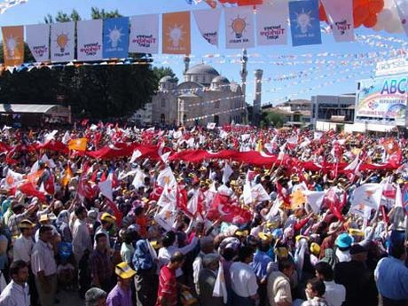 Seçim anketine göre Türkiyede durum