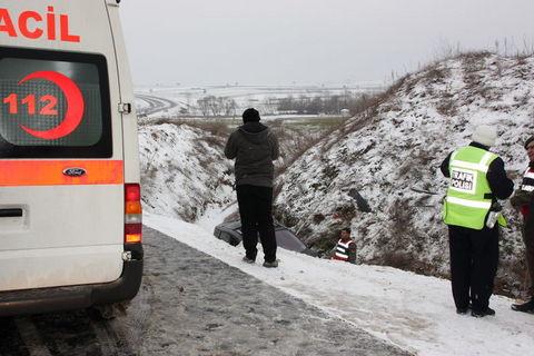 Edirnede kar felakete döndü!
