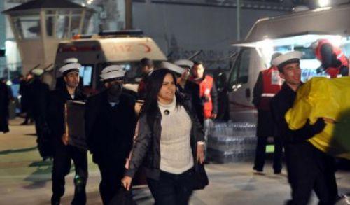 Libyadan yeni tahliyeler geldi